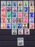 Austria: Mi Nr  893 - 926   1948  MNH/**/postfrisch/neuf Sans Charniere