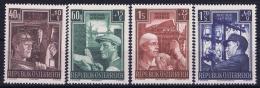 Austria: Mi Nr  960 - 963   1951  MNH/**/postfrisch/neuf Sans Charniere