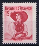Austria: Mi Nr  911  1948 MH/* Falz/ Charniere