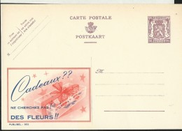 Publibel Neuve N° 952 ( Cadeaux ??  Ne Cherchez Pas ! Des Fleurs !!) - Stamped Stationery