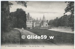 MAINTENON - Le Château - Vue Prise Du Parc (animée) - N° 4 - Maintenon