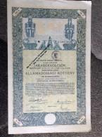 AKTIE   SHARES   STOCK   STOCKS   BONDS   1916.   100 KORONA - Banque & Assurance