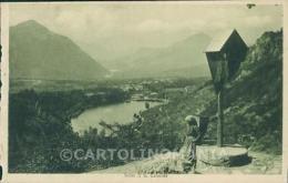 Trento Baselga Di Pinè Montagnaga Di Lago Di Serraia ABRASA Cartolina VK1571 - Trento