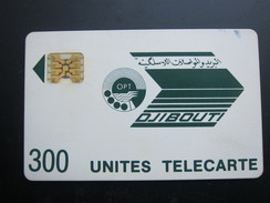 First Issued Chip Phonecard, 300 Unites, Used - Djibouti