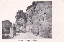 ITALIA - ROMA  Rupe Tarpea - Musées