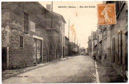 CPA 69 ( Rhone ) - GRIGNY - Rue Des Ecoles - Grigny