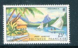 Polynesie P.A Y&T N°9 Neuf Avec Charnière * - Poste Aérienne