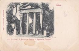 ITALIA - ROMA Villa Borghese, Il Parco Del Tempio Di Antonino E Faustina  -   Stengel & Co. - Parks & Gardens