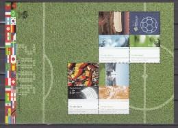 Germany Deutschland 2006,4V In Block,football,fussball,voetbal,fútbol,calcio ,MNH/Postfris(L2612)