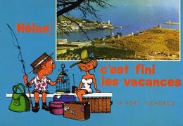 66 - Port-Vendres Et Le Camping Municipal - Port Vendres