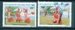 Polynesie Y&T N°165 Et 166 Oblitérés - Oblitérés
