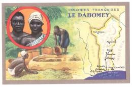 Chromo : Colonies Françaises Le Dahomey - Edition Spéciale Des Produits Du Lion Noir -R. C.série 100739 - Werbepostkarten
