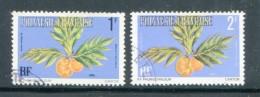 Polynesie Service Y&T N°1 Et 2 Oblitérés - Dienstzegels