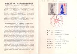JAPPAN SAILING-SHIP POST CARD 1980  (SET160302) - Vela