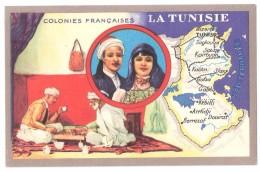 Chromo : Colonies Françaises L'Afrique Equatoriale Fr - Edition Spéciale Des Produits Du Lion Noir -R. C.série 100739 - Werbepostkarten