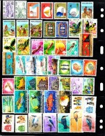 Papua New Guinea Collection Of 100 Different MNH Stamps 1964-1981 Mainly Complete Sets - Timbres