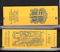 ANDORRE-Carnet  N° Y&T C387 De 1990 - Booklets