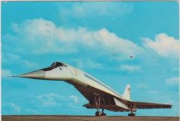 Avion :  LE  TU  144  , Jet  Supersonique - Non Classificati