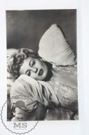 1950's Vintage Real Photo Postcard Cinema Film Actress - Shelley Winters - Actores