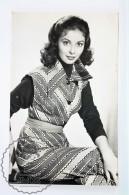 1950's Vintage Real Photo Postcard Cinema Film Actress - Pier Angeli - Actores
