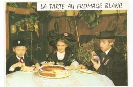 Y2116 Recette De La Tarte Au Fromage Blanc - Ricetta Recipe / Non Viaggiata - Ricette Di Cucina