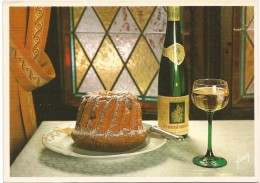 Y2117 Recette Du Kugelhopf - Ricetta Recipe / Non Viaggiata - Ricette Di Cucina
