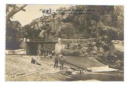 CPA PORTUGAL SANTAREM Arredores Pernes Quinta Do Alviela Ponte Sobre O Rio - Santarem