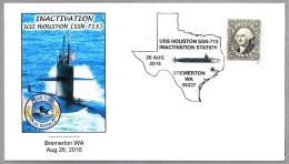 Desactivacion Submarino Nuclear USS HOUSTON (SSN-713). Bremerton WA 2016