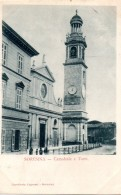 248  SORESINA - CREMONA  - FP VIAGGIATA 25.10.1900 1ª EDIZIONE - Cremona
