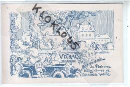24 VITRAC DORDOGNE -  Carte Postale Publicitaire HOSTELLERIE De Plaisance Villégiatures Et Pensions De Famille - CPA - Altri Comuni