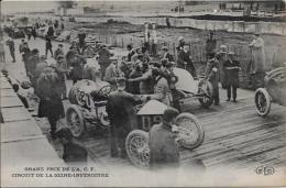 CPA Voiture Automobile Course Circuit ACF Seine Inférieure Non Circulé - Sport Automobile