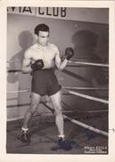 Autographe Original Signature Dédicace Sport Boxe Boxeur Albert ADIDA Avia Club (2 Scans) - Autografi
