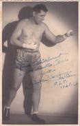 Autographe Original Signature Dédicace Sport Boxe Boxeur TISSOT Ex-Champion De France - Autografi