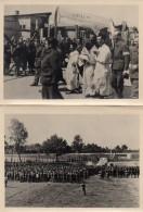 69Lb   Lot De 2 Photos Prisonniers De Guerre Stalag VI 69 La Procession - Guerre 1939-45