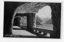 Galerie An Der Axenstrasse Blick Auf Flüelen Und Bristenstock - UR Uri