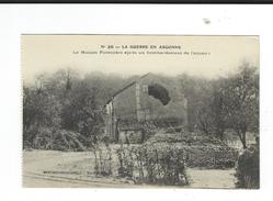 CPA 51  Maison Forestiere Bombardée  TBE Guerre Argonne - France