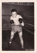Autographe Original Signature Dédicace Sport Boxe Boxeur Albert MARCQ Team P. Dupain - Autografi