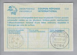 GB Ganzsache Coupon Réponse International 1977-11-23 Bingham - Otros