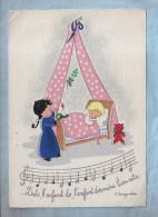 CP Barré & Dayez - 1444 M - Chansons Enfantines - Dodo L'Enfant Do - Par BURGUIERE  F. - Illustrators & Photographers