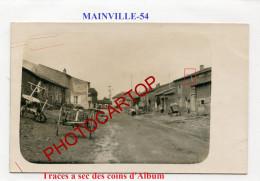 MAINVILLE-CARTE PHOTO Allemande-Guerre 14-18-1 WK-France-54- - Otros Municipios