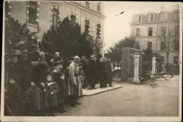 61 - ALENCON - PHOTO De MARS 1921 - Milataires - Monument Aux Morts - Lieux