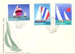 POLAND  SAILING SET 4 PIECES 1965   (SET160314) - Vela