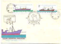 POLAND  NAVIGATION  SET 5 PIECES 1961   (SET160319) - Vela