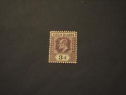 VIRGIN - 1904 RE  3 P. - NUOVO(+) - British Virgin Islands