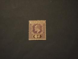 VIRGIN - 1904 RE  6 P. - NUOVO(+) - British Virgin Islands