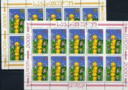 Georgia, Europa 2000, 2 Sheets - 2000