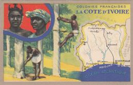 Afrique -  La Côte D'Ivoire - Colonial - Histoire Géographie - Scènes Et Types Hévéa - Lion Noir Paris Montrouge - Ivory Coast