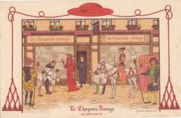 Hôtels Et Restaurants - Publicité - Histoire Religion Militaria - Illustrateur Le Tanneur - Hotels & Restaurants