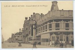 Bray-Dunes-Grand Hôtel De La Plage-(SÉPIA) - Bray-Dunes