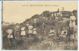 Bray-Dunes-Dans Les Dunes-(SÉPIA) - Bray-Dunes